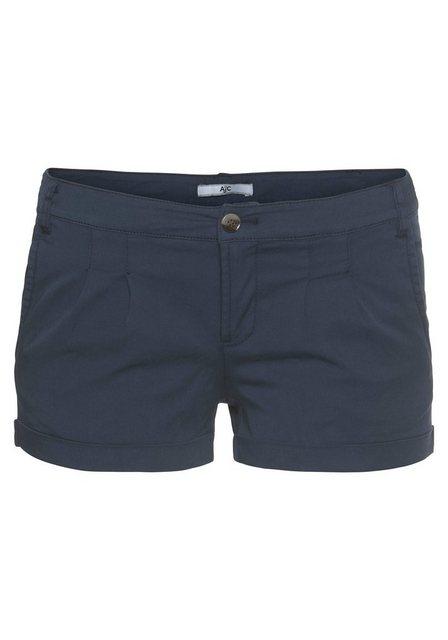 Hosen - AJC Hotpants mit Raffung vorne › blau  - Onlineshop OTTO