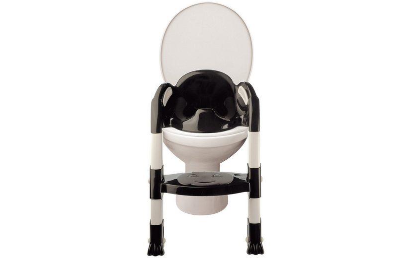 Funny Toilettentrainer Kiddyloo, schwarz/weiß
