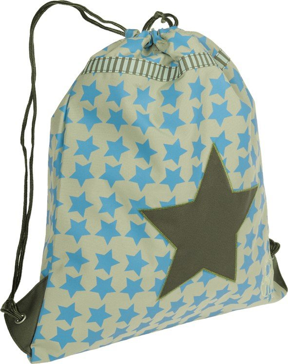 Lässig Sportbeutel 4kids, String Bag, Starlight oliv in oliv