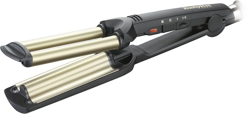 BaByliss, Welleneisen, »Easy Wave« C260E in schwarz/gold