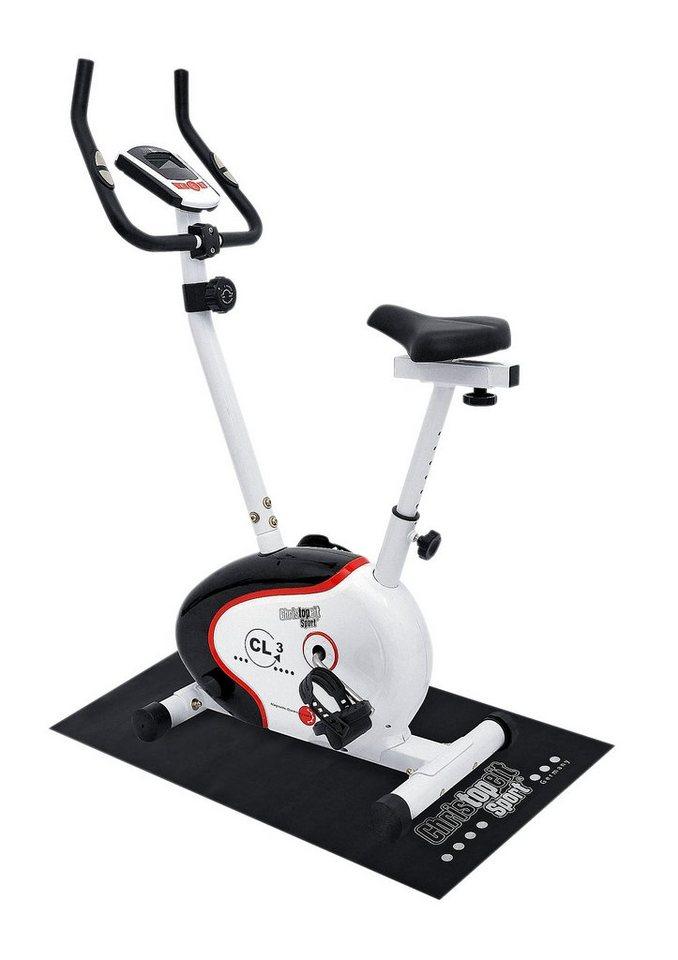 Heimtrainer-Set, »CL 3«, inkl. Unterlegmatte, Christopeit Sport® in weiß-schwarz-rot