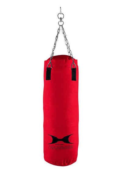 Hammer Boxsack »Canvas Professional« (Set, mit Trainings-DVD, mit Boxhandschuhen, mit Sprungseil, mit Haken)