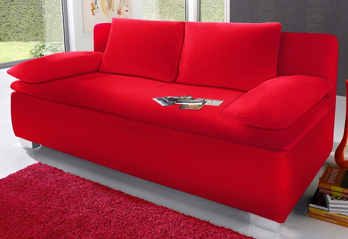 Schlafsofa von OTTO in rot - ab 499,99€