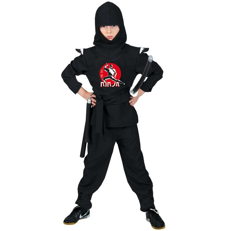 Funny Fashion Kostüm Ninja in Ninja