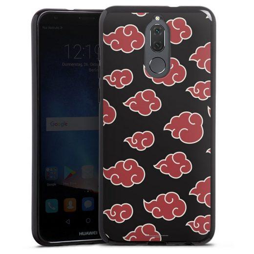 DeinDesign Handyhülle »Akatsuki Pattern« Huawei Mate 10 lite, Hülle Offizielles Lizenzprodukt Naruto Shippuden Akatsuki