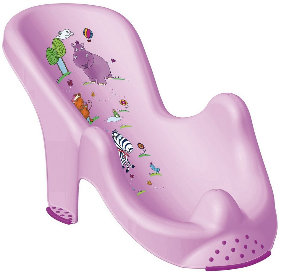 OKT kids Badewannensitz Hippo anatomisch, flieder in lila