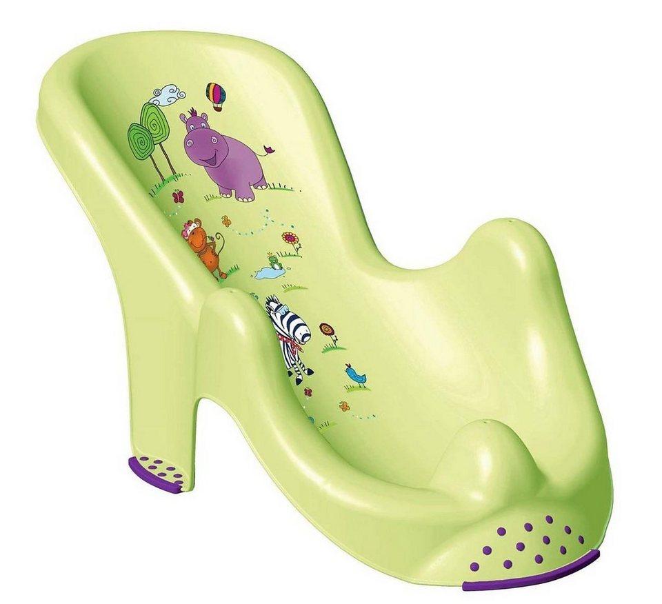OKT kids Badewannensitz Hippo anatomisch, limegrün in limegrün