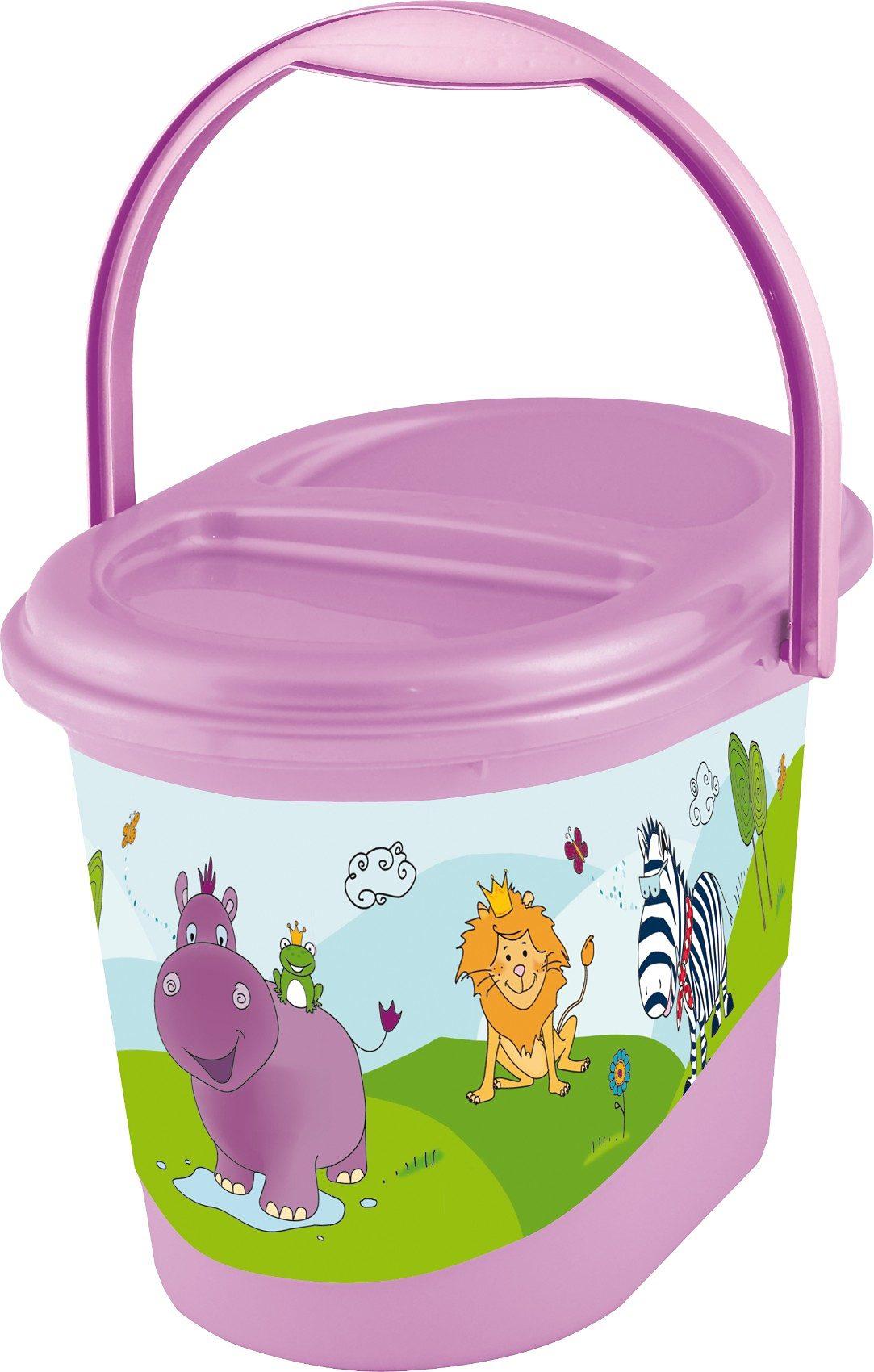 OKT kids Windeleimer Hippo, flieder