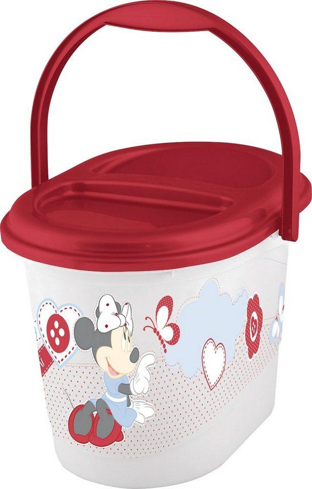 OKT kids Windeleimer Minnie Mouse in weiß