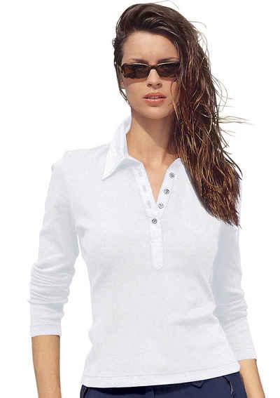 c11a7f99ec22ec Langarm Damen Poloshirts online kaufen