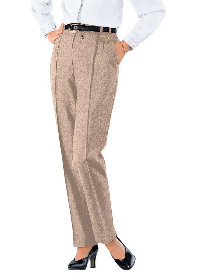 Classic Hose in beige-meliert