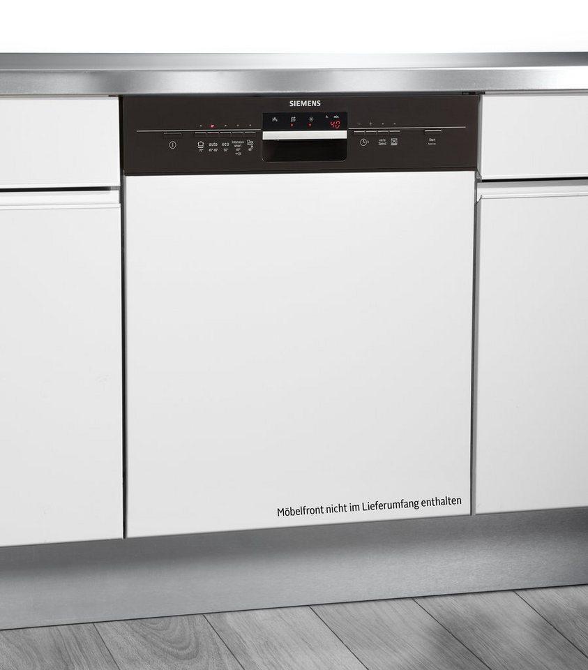 Siemens Integrierbarer Geschirrspüler SN55L430EU, A++, 10 Liter, 12 Maßgedecke in umbra