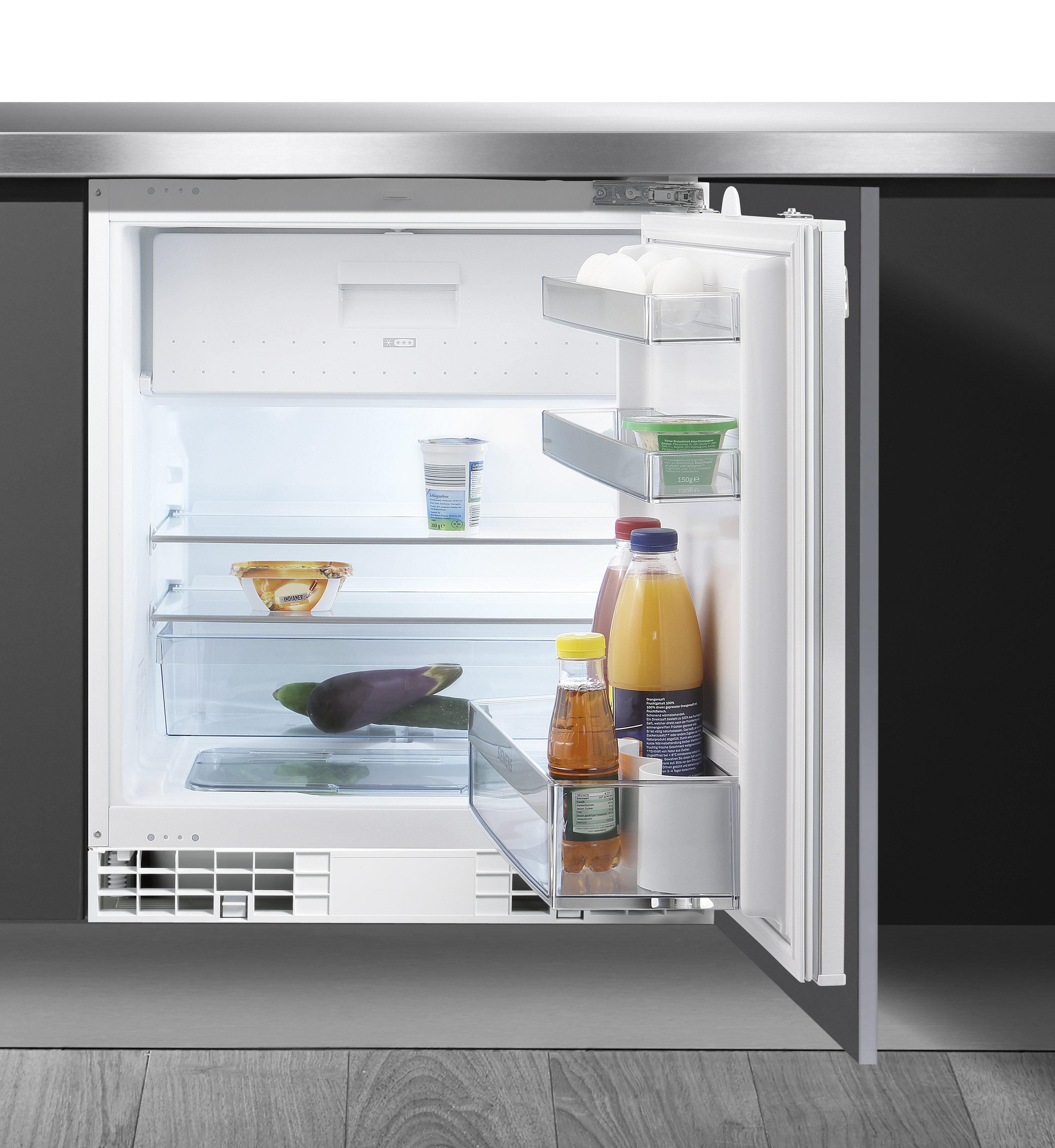 Siemens Integrierbarer Unterbau-Kühlschrank KU15LA60, A++, 82 cm