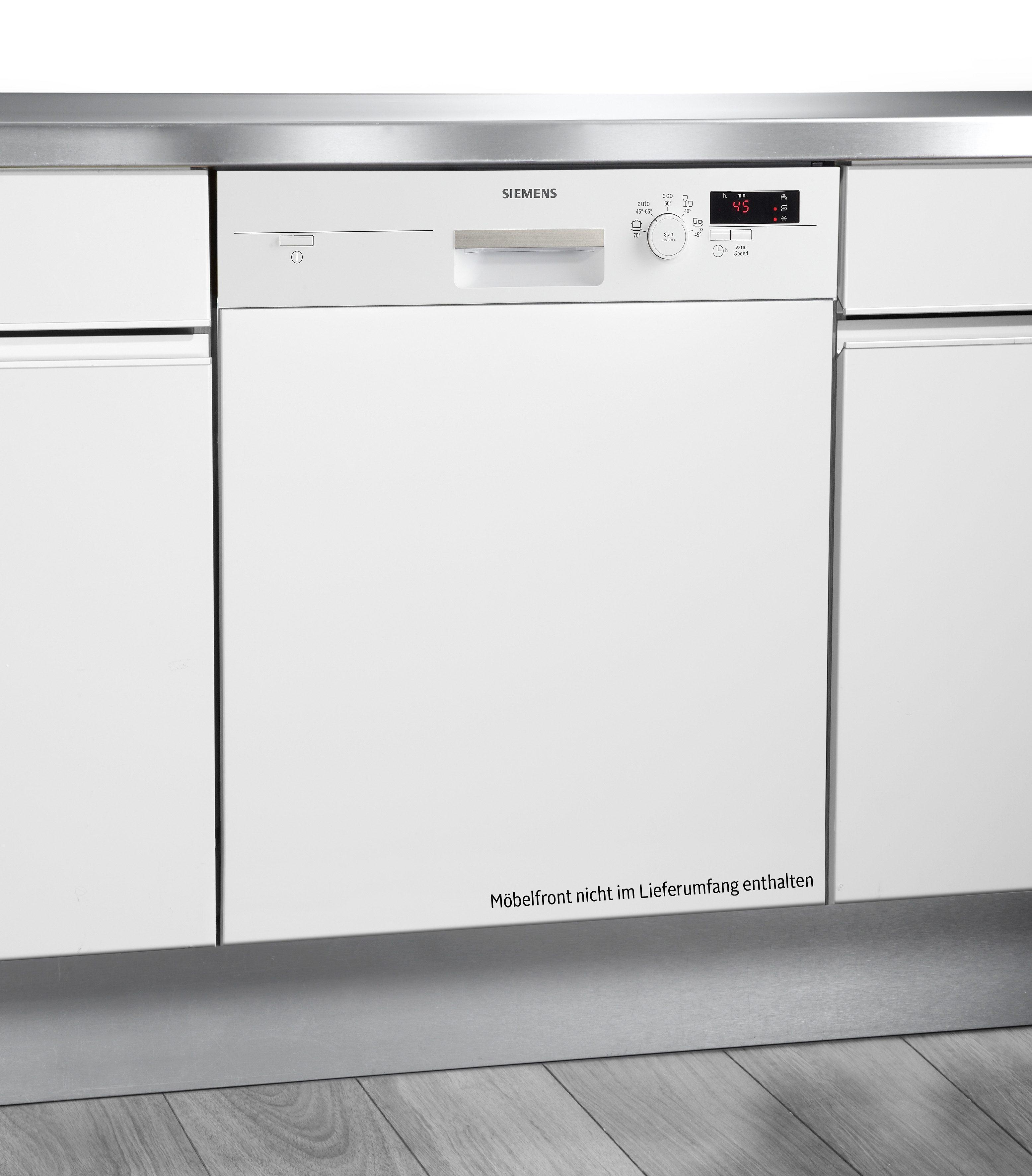Siemens Integrierbarer Geschirrspüler SN55D202EU, A+, 11,8 Liter, für 12 Maßgedecke