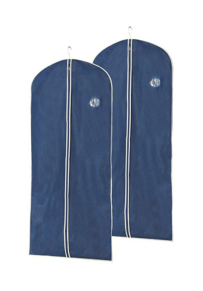 Kleidersack »Größe M«, 2er-Set in dunkelblau