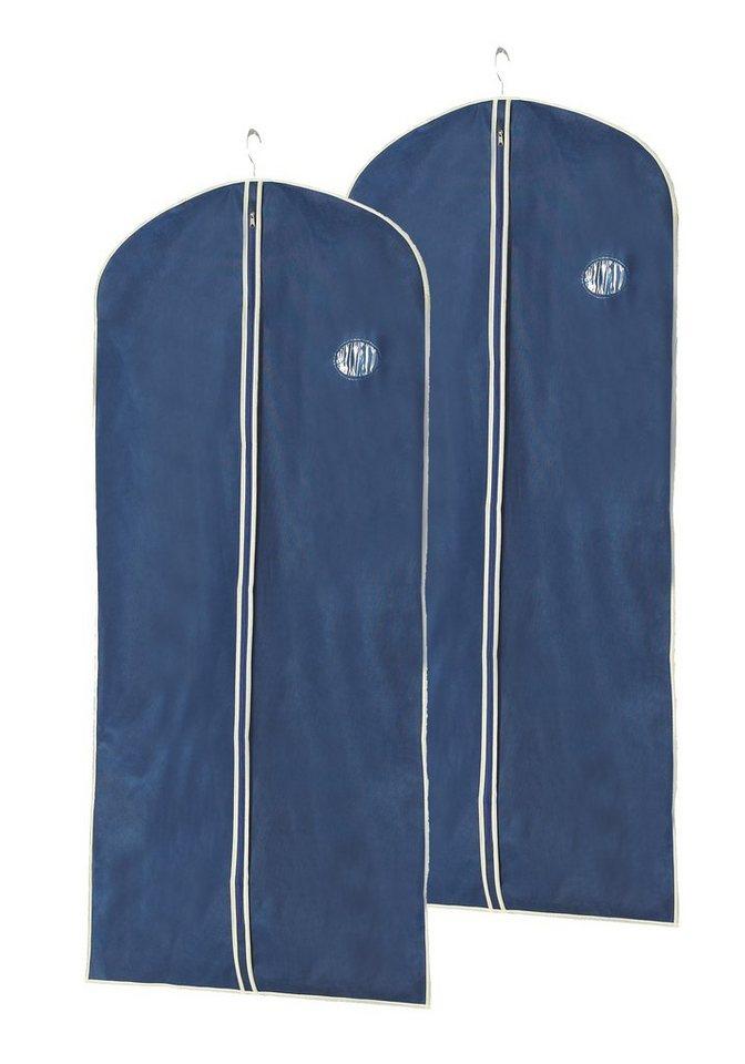 Kleidersack »Größe L«, 2er-Set in dunkelblau