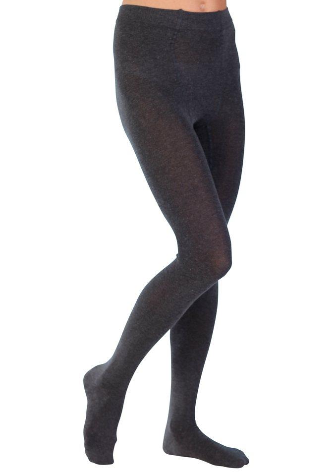 Strick-Strumpfhose, Hudson in schwarz