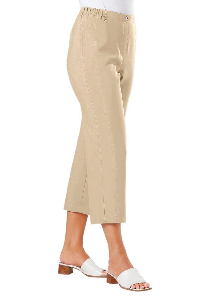 Classic Basics 7/8-Hose in luftiger und pflegeleichter Qualität