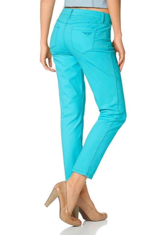 Arizona 7/8-Jeans Trendige Farben in türkis