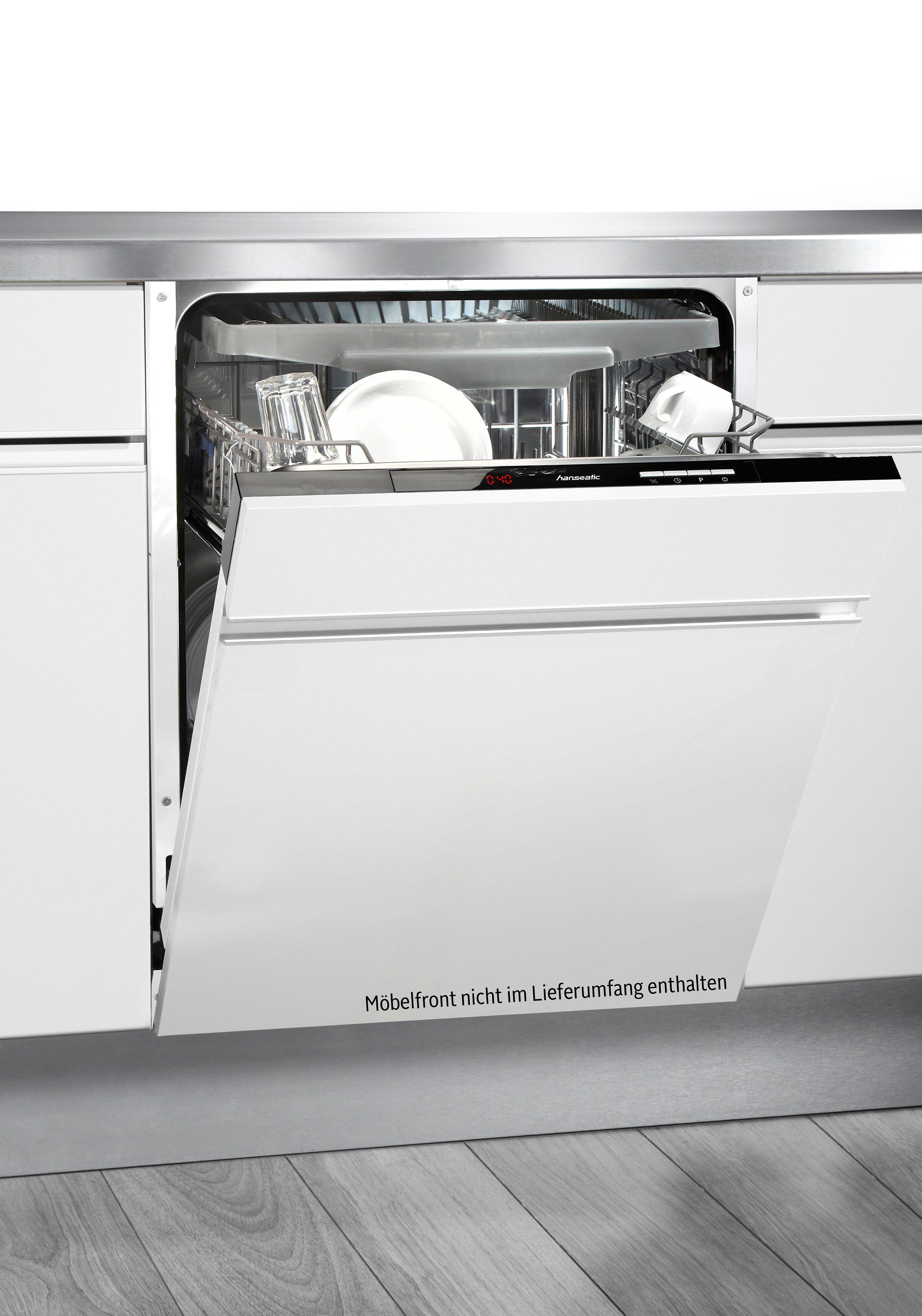 Hanseatic vollintegrierbarer Einbau-Geschirrspüler WQP12-J7311A, A++
