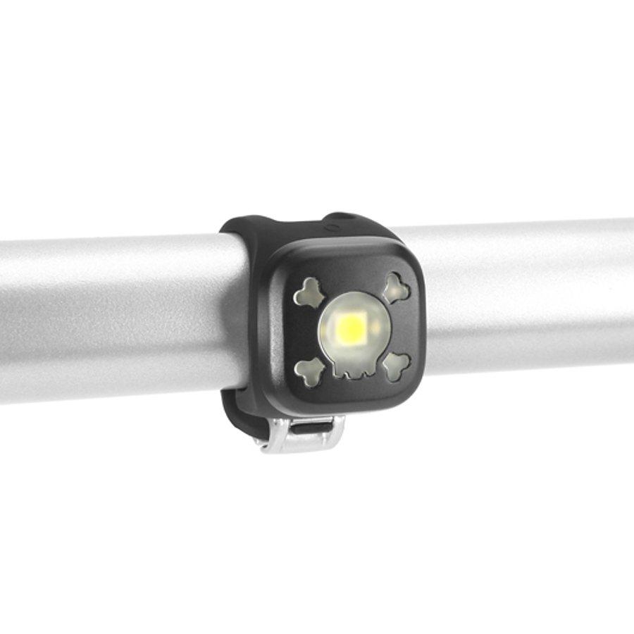 Knog Fahrradbeleuchtung »Blinder 1 weiße LED Skull schwarz«