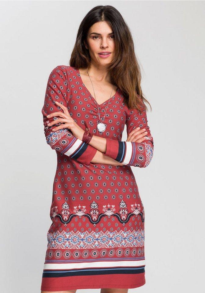 boysen's -  Jerseykleid mit ornamentalem Alloverprint