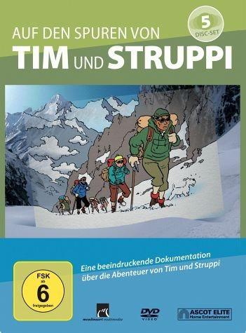 DVD »Auf den Spuren von Tim und Struppi (5 Discs)«