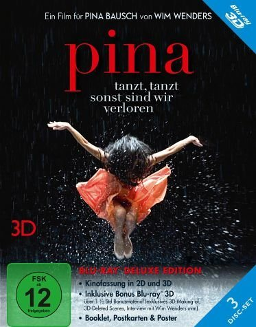 Blu-ray »Pina (Blu-ray 3D, Deluxe Edition, 3 Discs)«