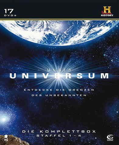 DVD »Unser Universum - Komplettbox (17 Discs)«