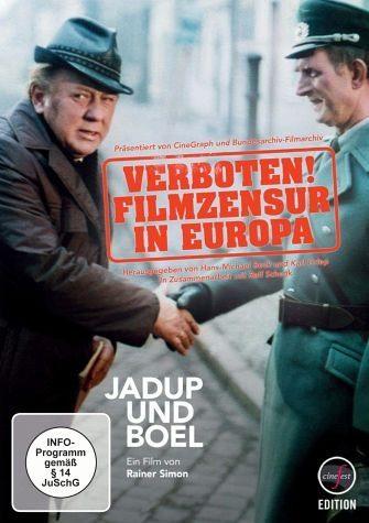 DVD »Jadup und Boel - Verboten! Filmzensur in Europa«