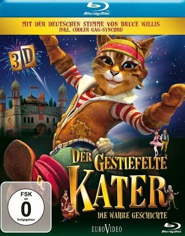 Blu-ray »Der gestiefelte Kater - Die wahre Geschichte...«