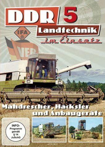 DVD »DDR-Landtechnik im Einsatz - Teil 5«