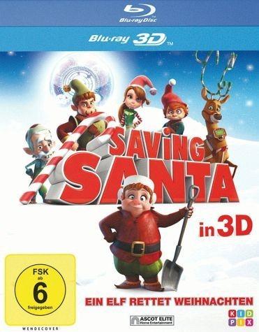 Blu-ray »Saving Santa - Ein Elf rettet Weihnachten...«