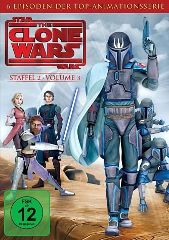 DVD »Star Wars: The Clone Wars - Staffel 2, Vol. 3«