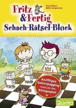 Broschiertes Buch »Fritz & Fertig Schach-Rätsel-Block«