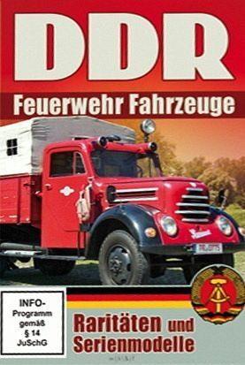 DVD »DDR Feuerwehr Fahrzeuge«