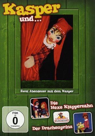 DVD »Kasper und ...Die Hexe Klapperzahn / Der...«