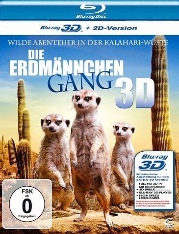 Blu-ray »Die Erdmännchen Gang (Blu-ray 3D)«