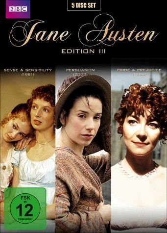 DVD »Jane Austen Edition III (5 Discs)«