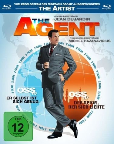 Blu-ray »The Agent - OSS 117, Teil 1 & 2«