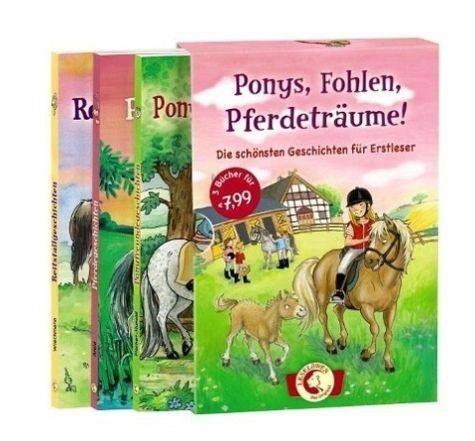 Broschiertes Buch »Leselöwen - Ponys, Fohlen, Pferdeträume!«