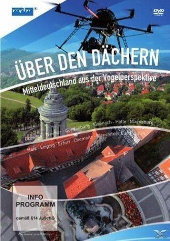 DVD »Über den Dächern - Mitteldeutschland aus der...«