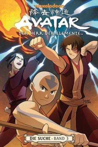 Broschiertes Buch »Die Suche 3 / Avatar - Der Herr der Elemente Bd.7«