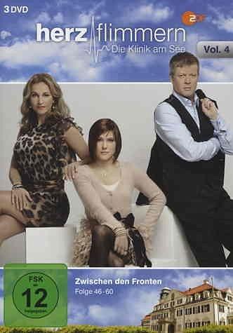 DVD »Herzflimmern - Die Klinik am See, Vol. 4 (3...«