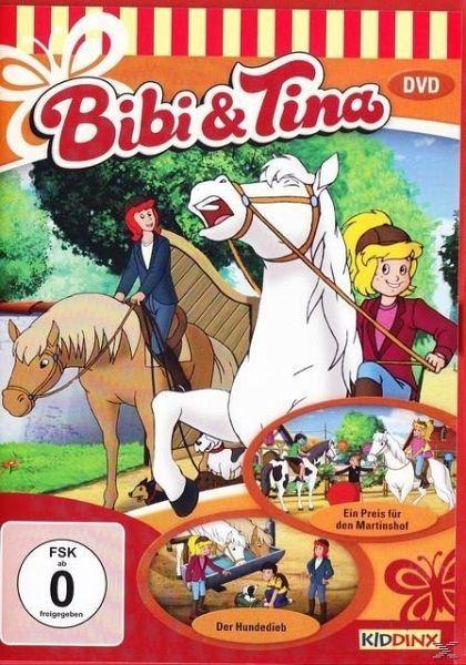 DVD »Bibi und Tina - Der Hundedieb / Ein Preis für...«