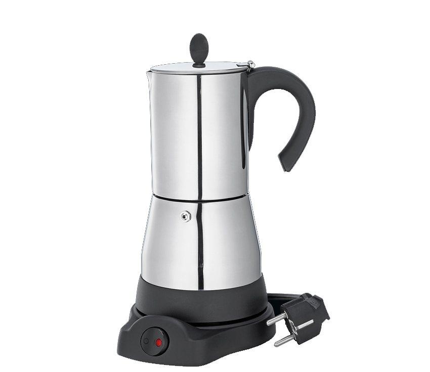Cilio Elektrischer Espressokocher »Lisboa« in Edelstahl poliert