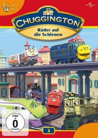 DVD »Chuggington 03 - Räder auf die Schienen«