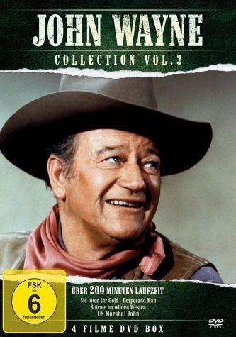 DVD »John Wayne Collection Vol. 3«