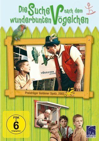 DVD »Die Suche nach dem wunderbunten Vögelchen«