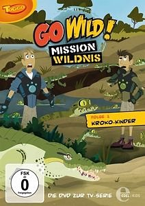 DVD »Go Wild! Mission Wildnis - Folge 1: Kroko-Kinder«